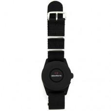 iMaxAlarm Personal Alarm Wristband - Running, Walking, Travel, Hotel - Black